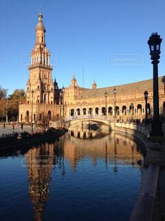 セビリア・スペイン広場の写真・画像素材[3313724]