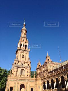 セビリア・スペイン広場の写真・画像素材[3313726]
