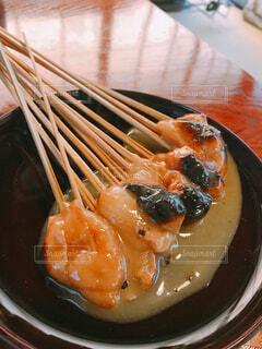 京都 一和 あぶり餅の写真・画像素材[1580051]