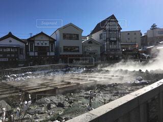 草津温泉 湯畑の写真・画像素材[1578835]
