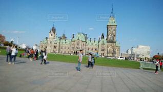カナダの国会議事堂の写真・画像素材[1583409]