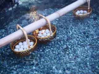 温泉たまごの写真・画像素材[1586719]