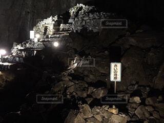 日原鍾乳洞の写真・画像素材[1587263]