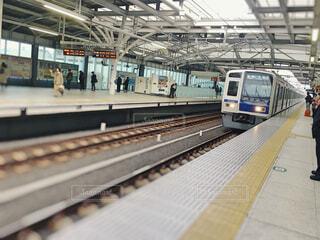 電車待ちの写真・画像素材[1595443]