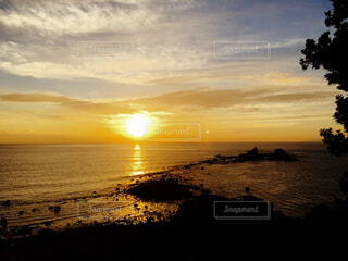 朝陽の写真・画像素材[1597183]