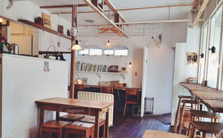吉祥寺のカフェの写真・画像素材[1598271]