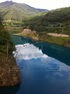 四万川ダムの写真・画像素材[1647873]