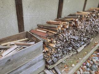 薪の写真・画像素材[1656416]