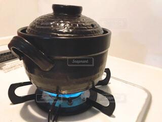 炊飯土鍋の写真・画像素材[2151061]