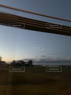 夕日のビューの写真・画像素材[1585857]