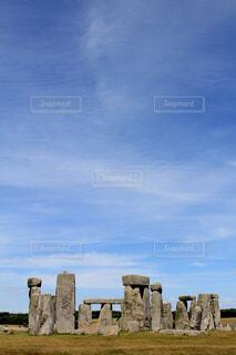イギリスのストーンヘンジの写真・画像素材[1600015]