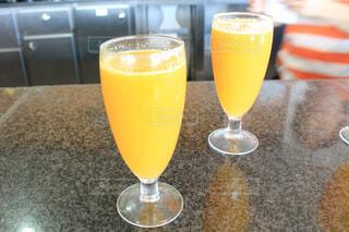 オレンジの生ジュースの写真・画像素材[1603749]