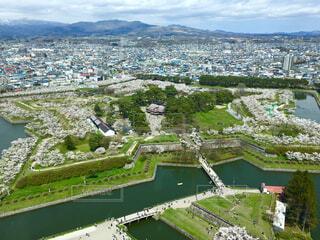 タワーから見た五稜郭の写真・画像素材[1604630]