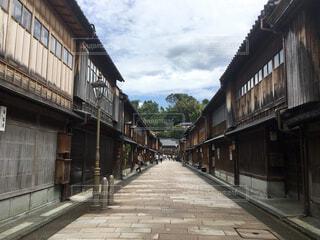 金沢の茶屋街の写真・画像素材[1605341]