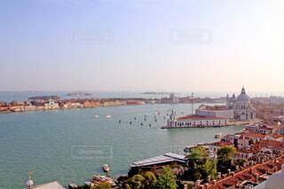鐘楼から見たヴェネツィアの写真・画像素材[1605853]