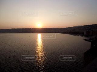 ナポリの夕暮れの写真・画像素材[1610000]
