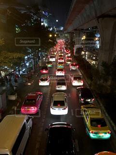 バンコクの交通渋滞の写真・画像素材[1622212]