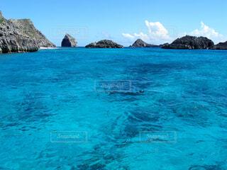 ジニービーチ沖の写真・画像素材[1625921]