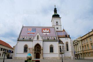 ザブレグの聖マルコ教会の写真・画像素材[1626212]