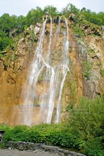 プリトヴィッツェの滝の写真・画像素材[1626214]