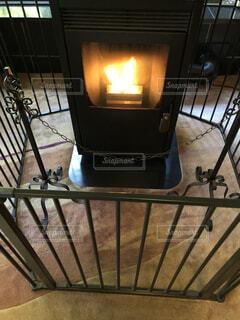 暖炉の写真・画像素材[1580655]