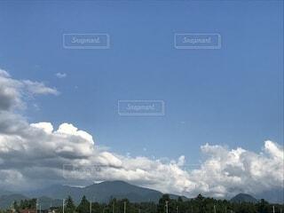 夏の立山連峰の写真・画像素材[1580582]