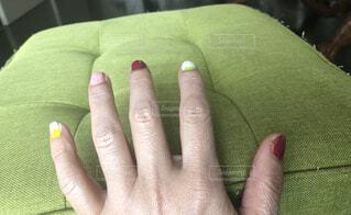 コスモス色 の爪の写真・画像素材[1629314]
