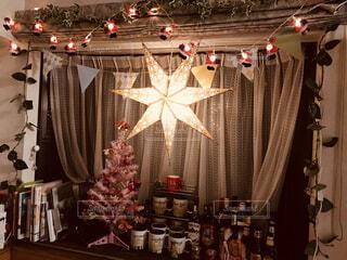 クリスマス・ウインドウの写真・画像素材[1581855]