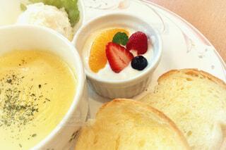 お気に入りの朝食の写真・画像素材[1852923]