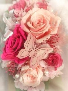 ピンクの花束の写真・画像素材[3360955]