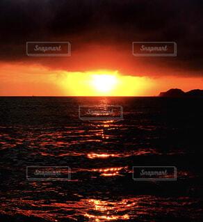 海に沈むの写真・画像素材[1699554]