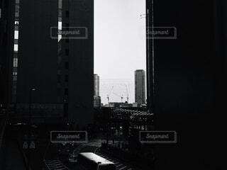 夕景〜大阪駅より〜の写真・画像素材[2683290]