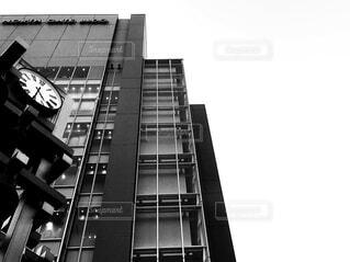 街の時計の写真・画像素材[2683300]