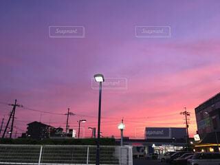 夕焼けの写真・画像素材[1585338]