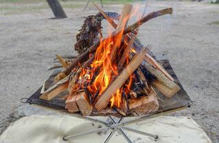 焚き火の写真・画像素材[1629652]