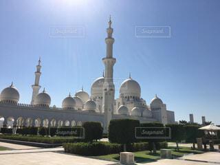 シェイク・ザイード・グランドモスクの写真・画像素材[1586297]