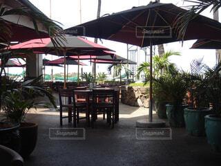 ハワイのカフェの写真・画像素材[1609477]