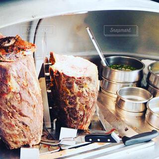 肉の塊の写真・画像素材[1783647]