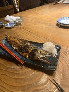 原始焼き魚の写真・画像素材[2917266]