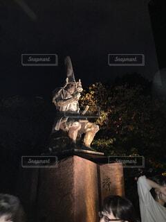 武将像の写真・画像素材[1589632]