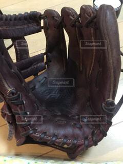 野球グローブの写真・画像素材[1598286]