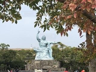 長崎平和記念公園の写真・画像素材[1625784]
