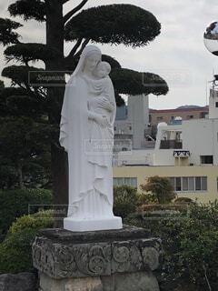 マリア像の写真・画像素材[2758527]