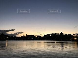 夕日の写真・画像素材[1591096]