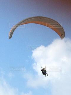 空を飛ぶの写真・画像素材[1596234]