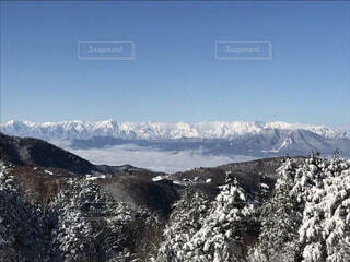 雪山の写真・画像素材[434866]