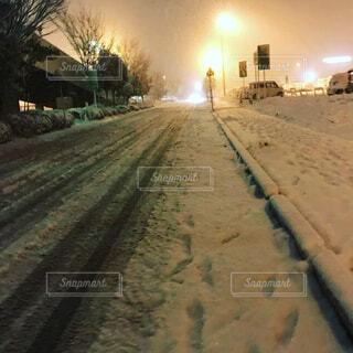滅多に雪が降らないのにの写真・画像素材[1592177]