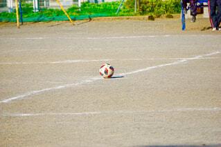 サッカーボールの写真・画像素材[1664528]