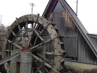 水車小屋の写真・画像素材[1596894]