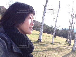 草原をお散歩の写真・画像素材[1631864]